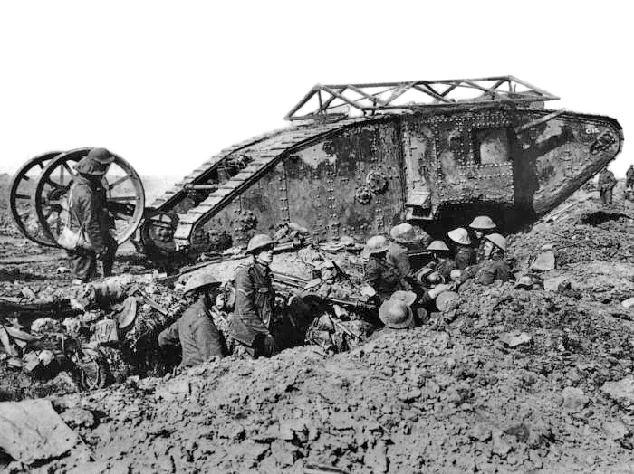 Battle of Flers-Courcelette – 100 years of tanks