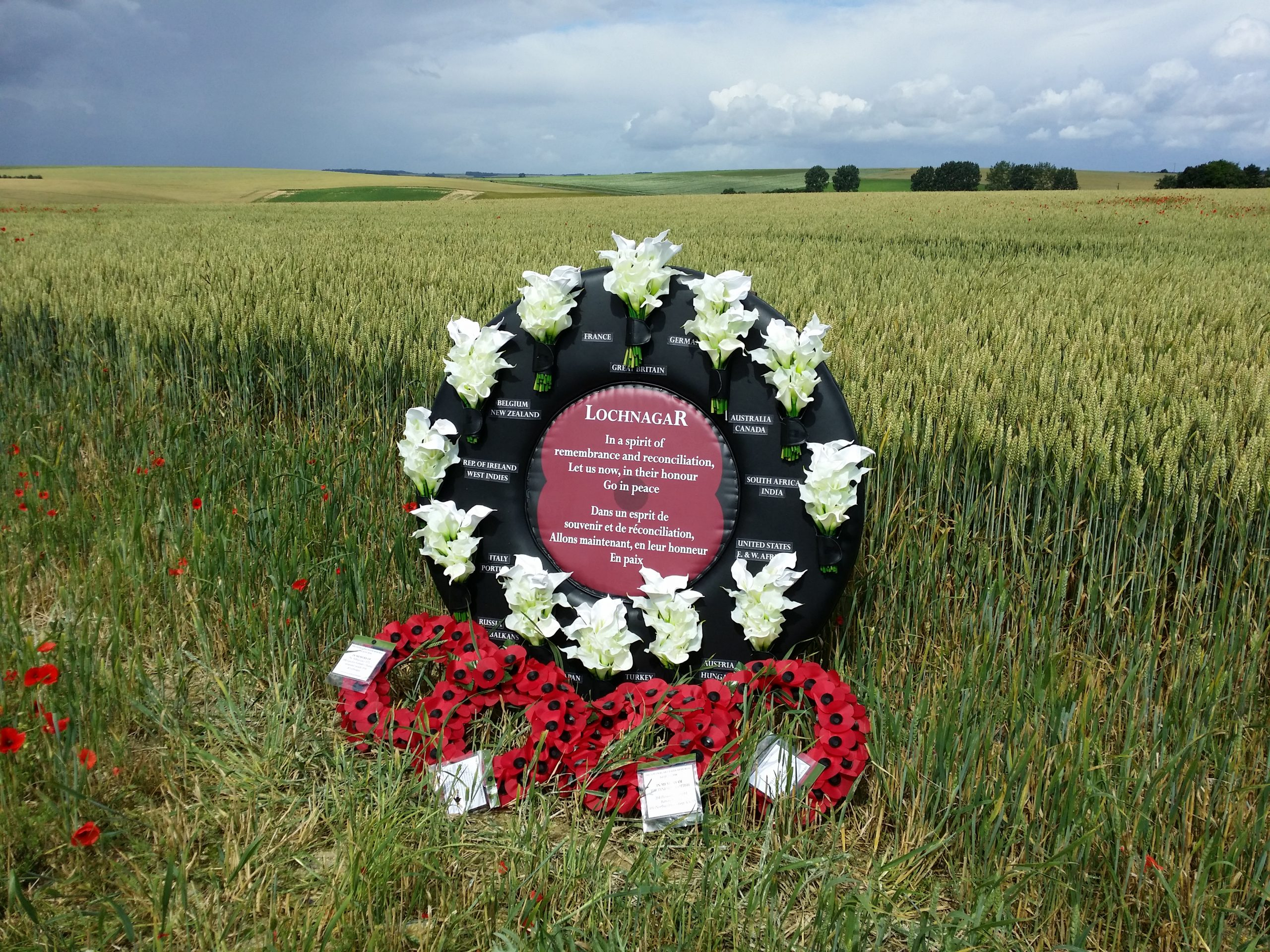 Lochnagar crater 1 july 2016