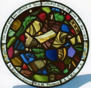 Memorial Stained Glass Window to 6th Wiltshires died in WW1